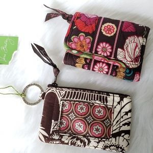 Vera Bradley | Wallet and Zip ID Case Bundle